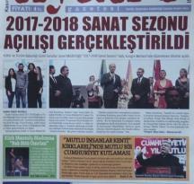 TİYATRO GAZETESİ KASIM 2017