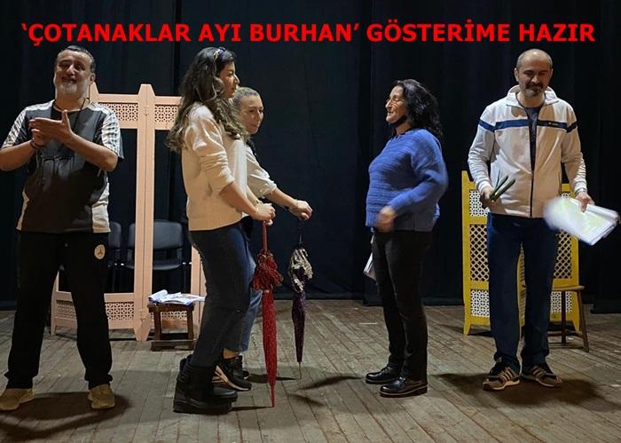 'ÇOTANAKLAR AYI BURHAN' GÖSTERİME HAZIR