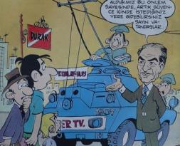 FIRT HAFTALIK MİZAH DERGİSİ 15 AĞUSTOS 1978