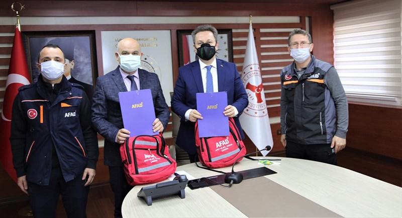 GRÜ ile AFAD Arasında İş Birliği Protokolü İmzalandı