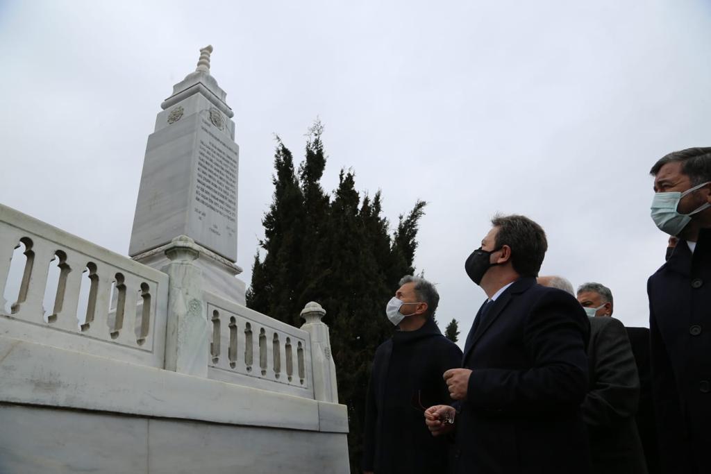 Milli Mücadele Kahramanı Osman Ağa, Anıt Mezarı Başında Dualarla Anıldı