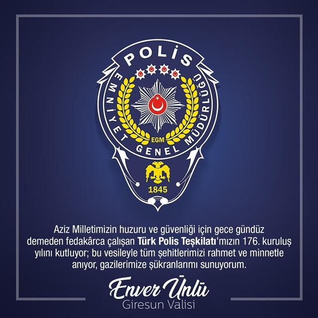 TürkPolisTeşkilatı176Yaşında