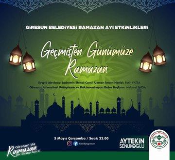 'Geçmişten Günümüze Ramazan'