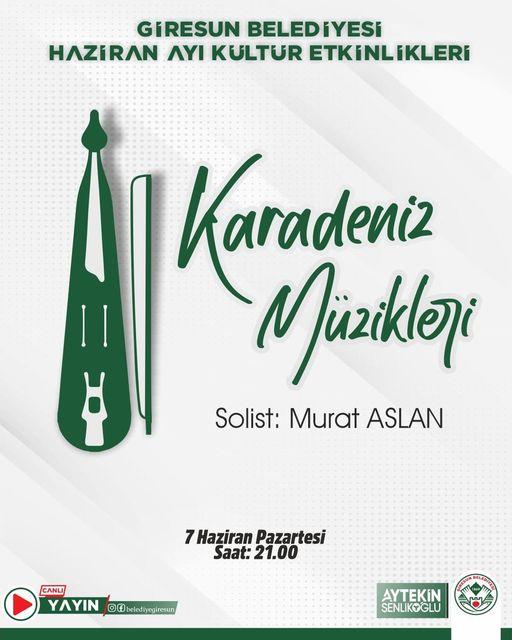 Karadeniz Müzikleri Murat Aslan