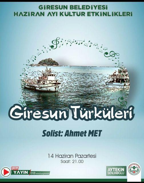 Giresun Türküleri Ahmet Met