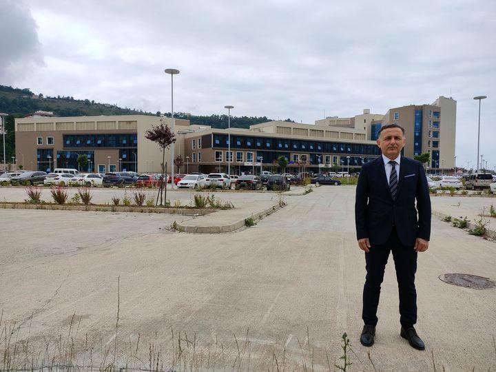 Giresun Üniversitesi Giresun Eğitim ve Araştırma Hastanesinde