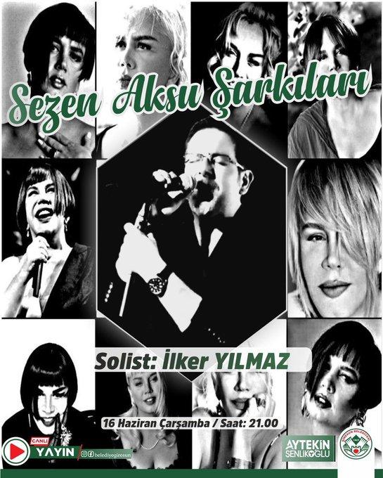 'Sezen Aksu Şarkılarıyla' İLKER YILMAZ