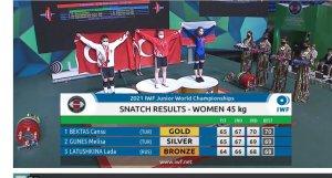 Cansu Bektaş Dünya Şampiyonu