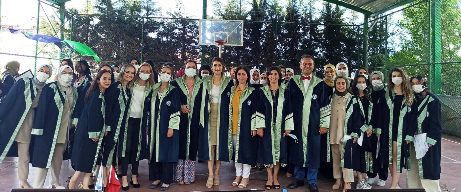 Giresun Üniversitesi Sağlık Bilimleri Fakültesi Mezuniyet Töreni Yapıldı