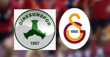 Süper Ligde ilk maçımız GZT Giresunspor – Galatasaray