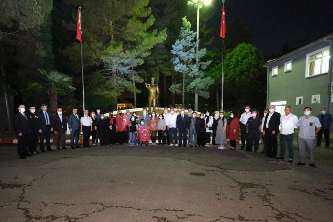 15 Temmuz Şehit Yakınları veGazileri Onuruna Yemek Düzenlendi