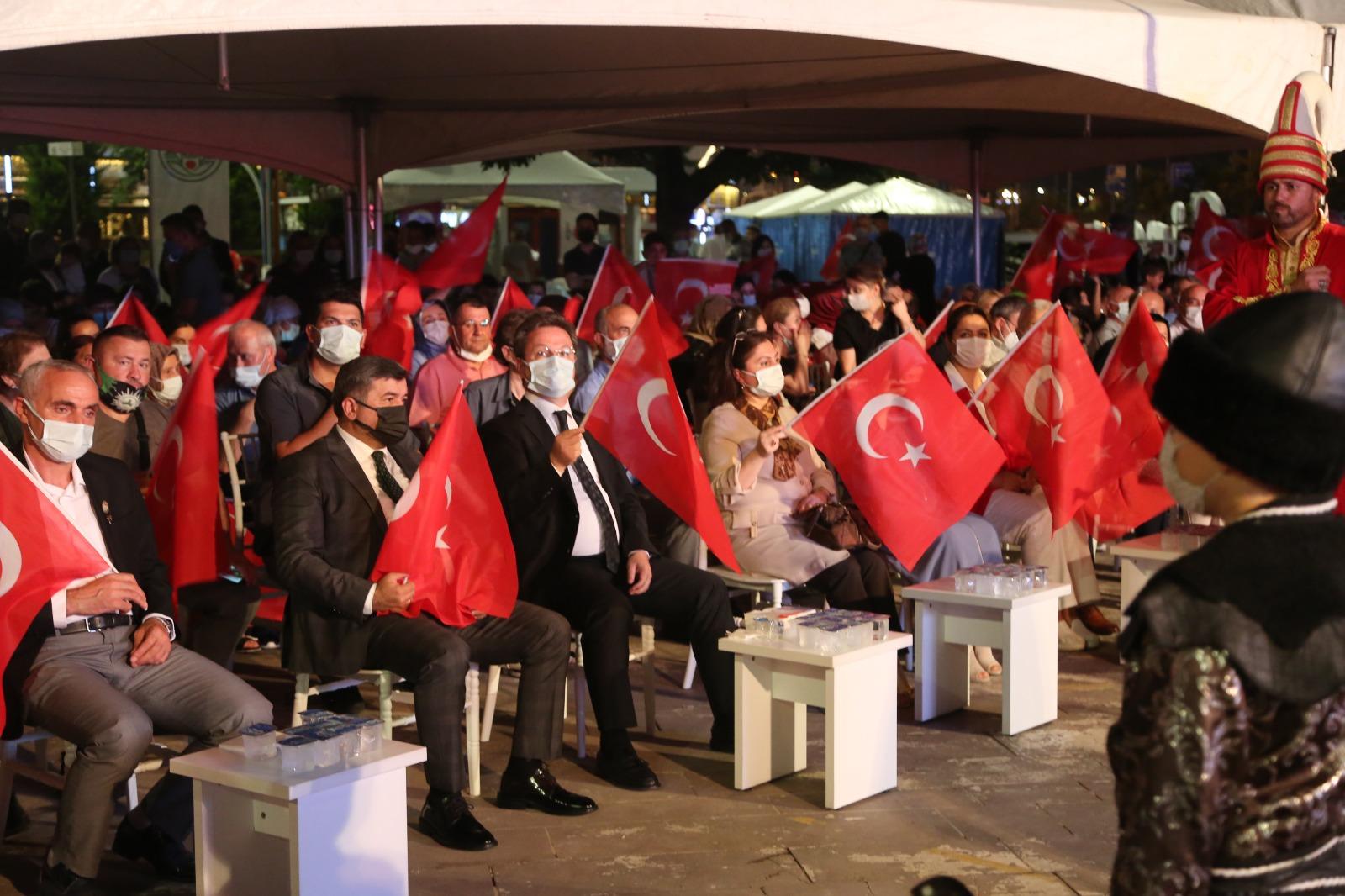 """Giresunlular """"Türkiye Geçilmez"""" Dedi"""