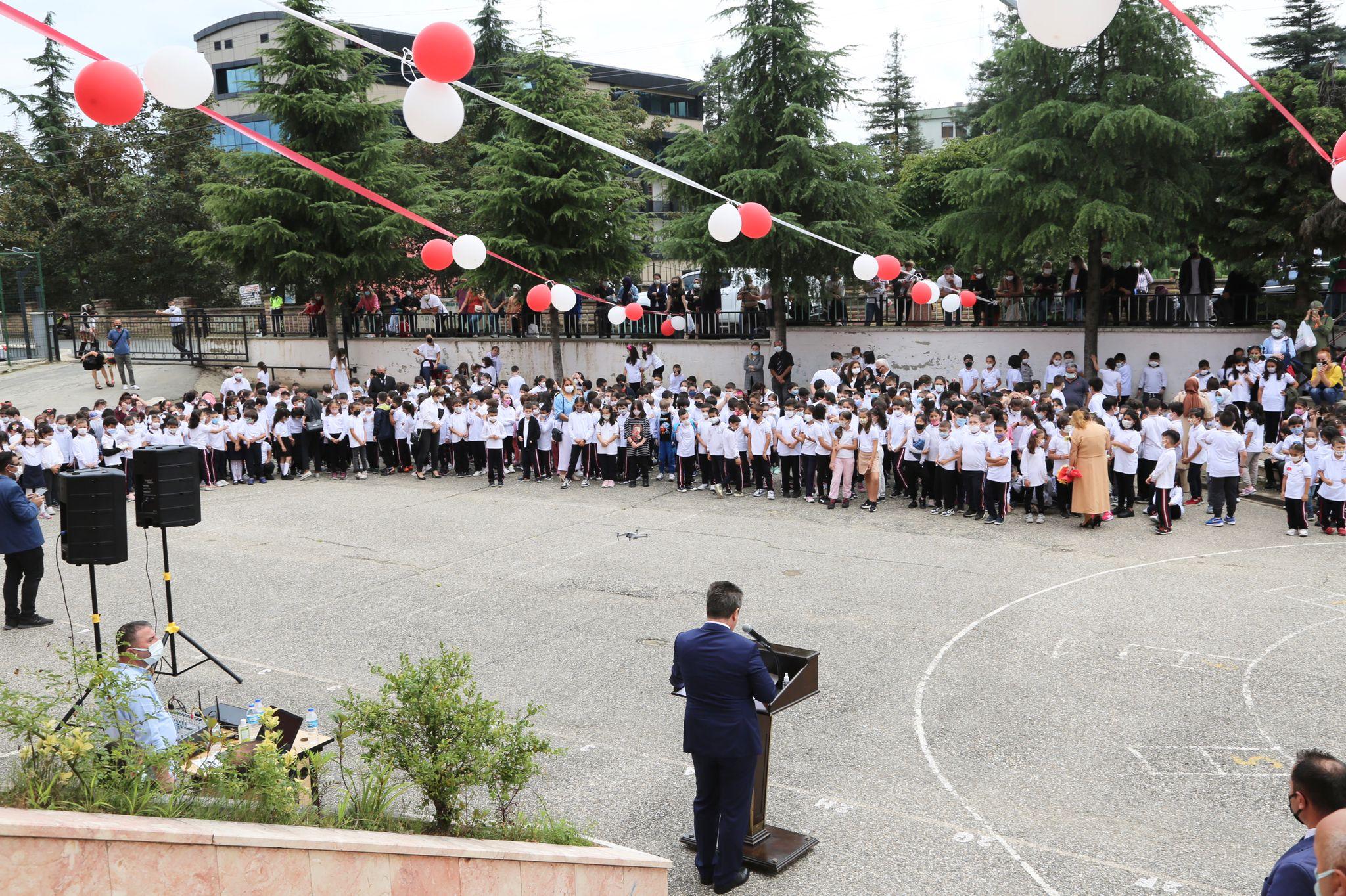 Giresun'da 66 Bin 624 Öğrenci İçin İlk Ders Zili Çaldı