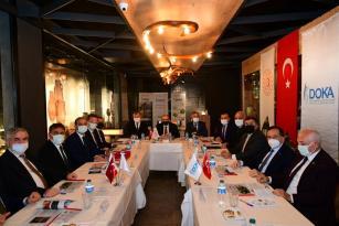 Vali Ünlü, DOKA'nın 145. Yönetim Kurulu Toplantısına Katıldı