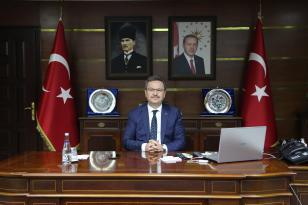 Vali Enver Ünlü'nün Cumhuriyet Bayramı Mesajı